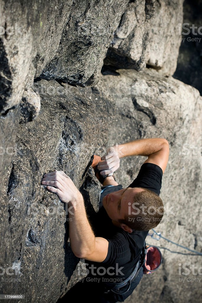 climber in action royalty-free stock photo