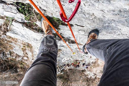 Outdoor climbing gym