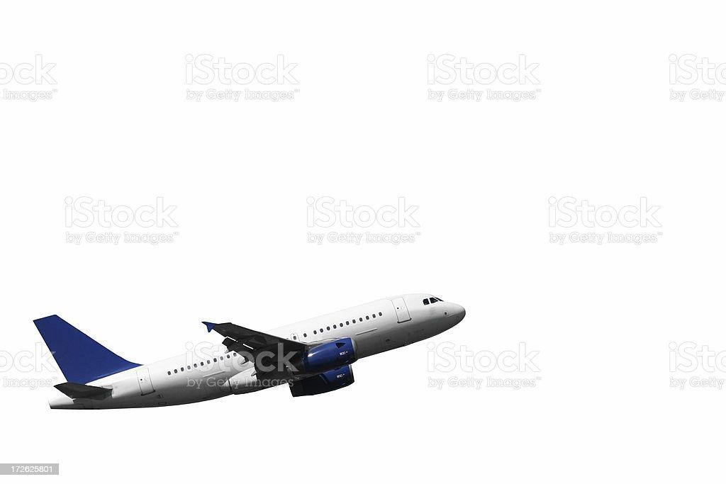 Escalade avion, isolé - Photo