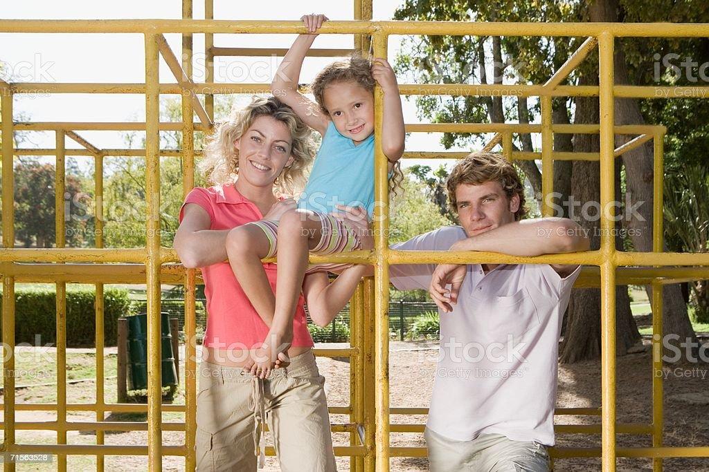 Climbing frame royalty-free stock photo
