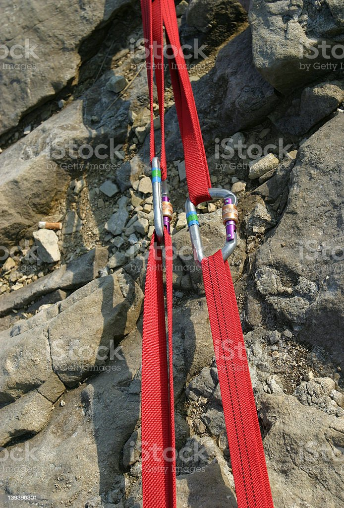 Climbing Gear royalty-free stock photo