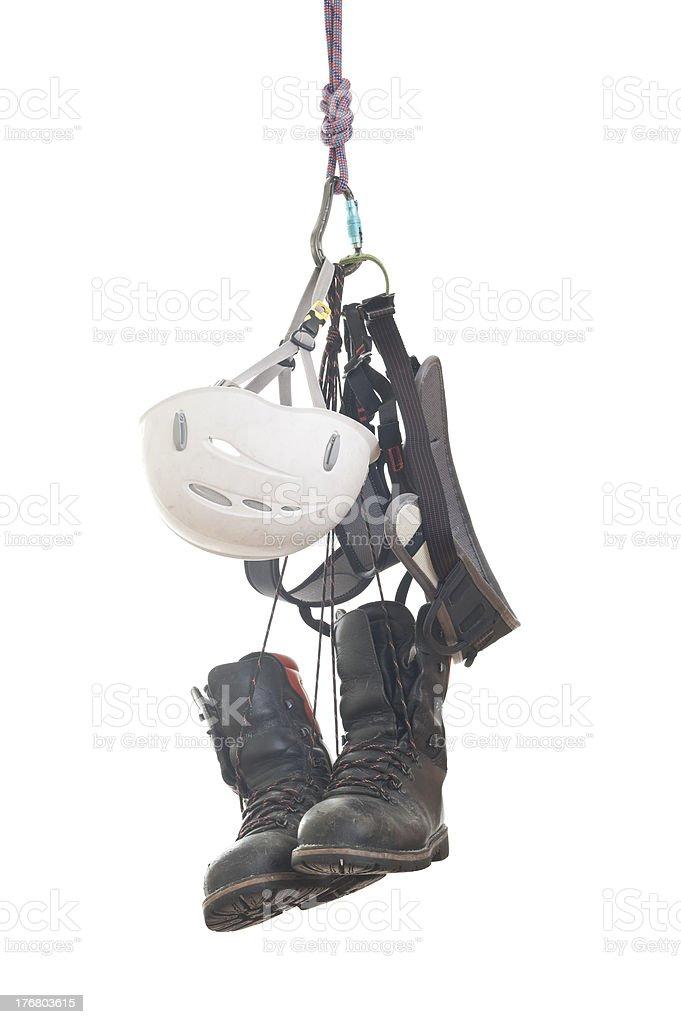 Climbing Gear royalty-free stock photo