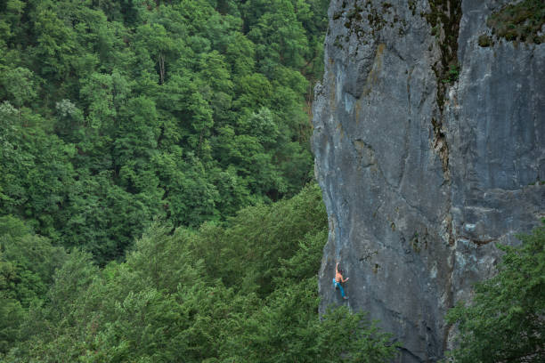 Klettern in der Natur – Foto