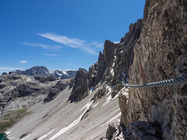Klettern in den Dolomiten – Foto