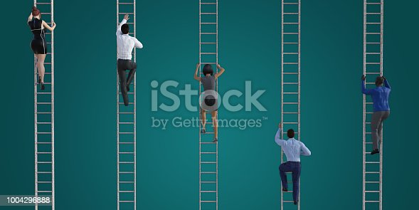 Climbing the Corporate Ladder as a Business Concept