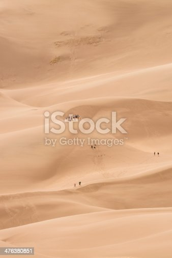 Great Sand Dunes National Monument, Colorado, USA.