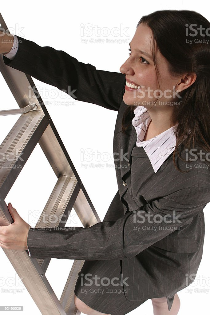 Climbing The Ladder royalty-free stock photo