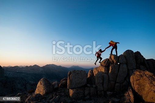 istock climbing to the top 478806622