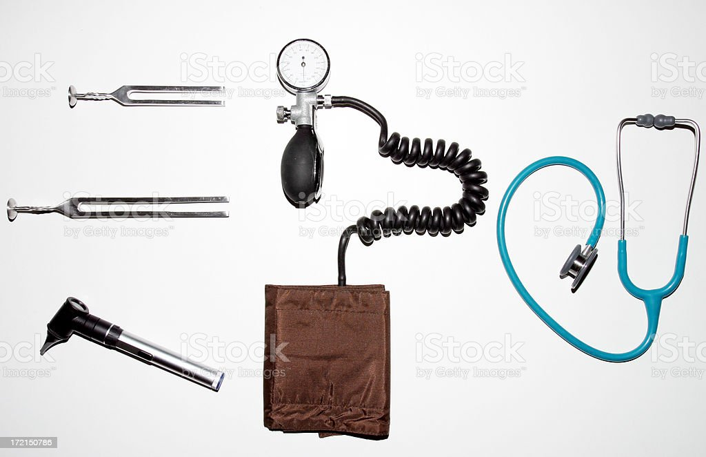 Clinical equipment royalty-free stock photo