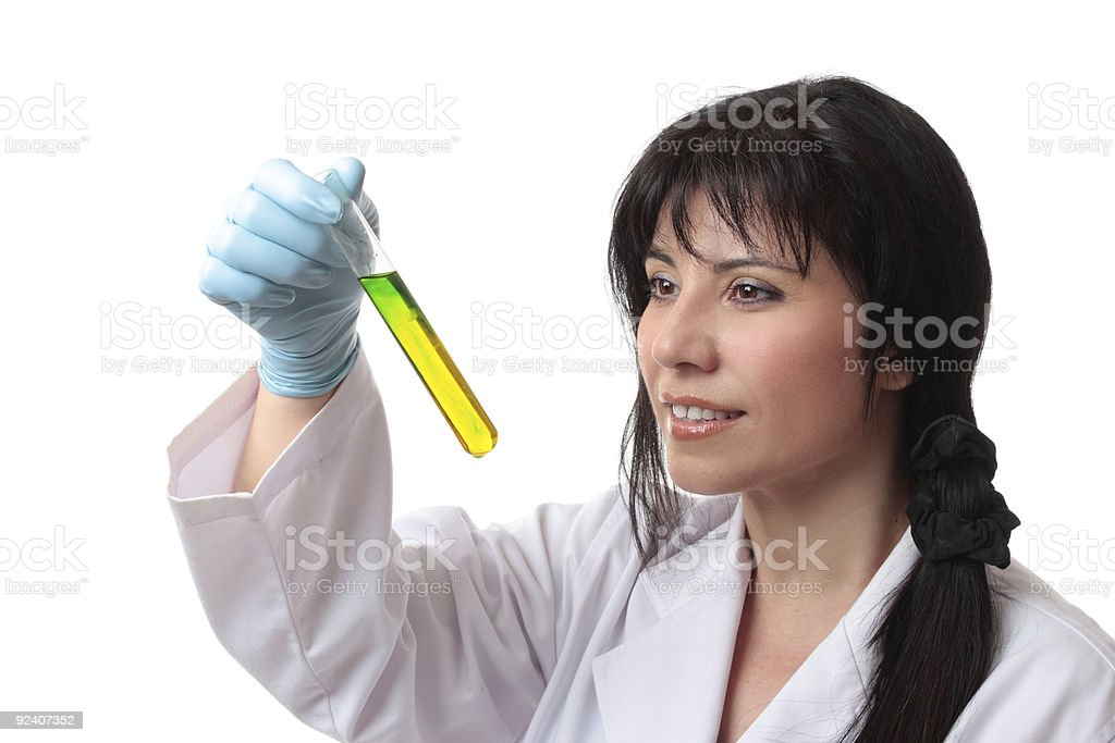 Clinical scientific tests royalty-free stock photo