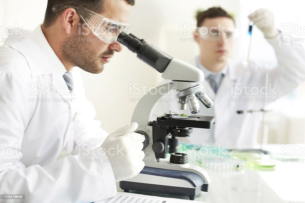 Clinical study royalty-free stock photo