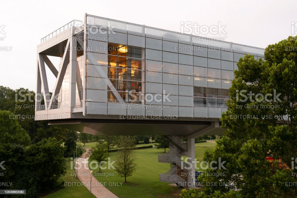 Clinton Presidential Library and Museum stock photo