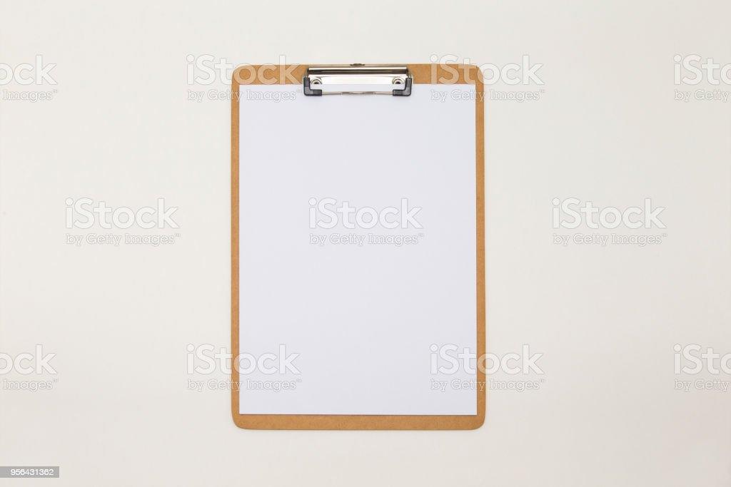 Placa de abrazadera - foto de stock