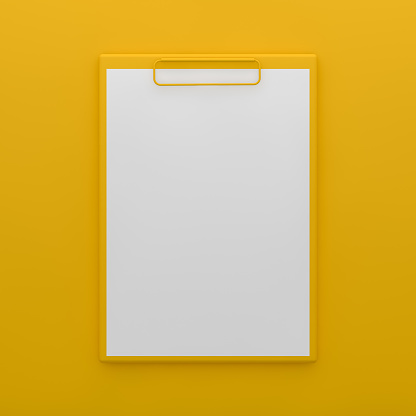 Clipboard, note paper on colorful background, paper,  checklist, todo list