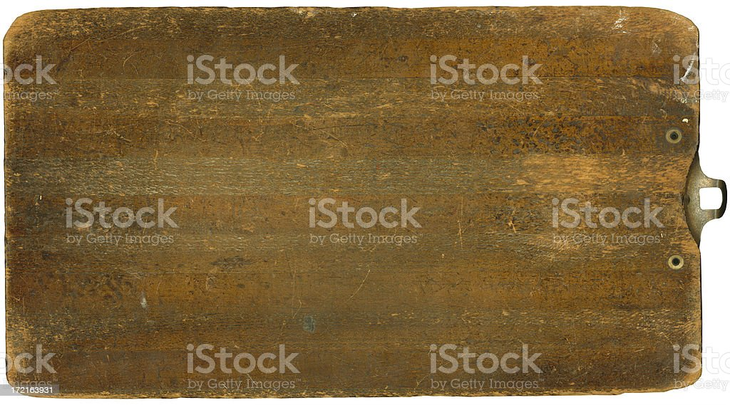 Clipboard (SUPER HIGH RES 16.2 MP) royalty-free stock photo