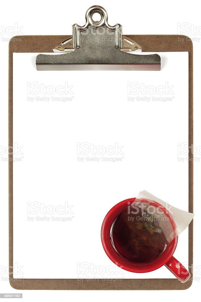 Schowka z Kubek herbaty zbiór zdjęć royalty-free