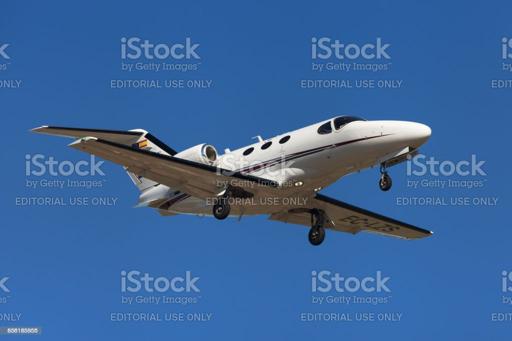 Clipper Jet Cessna 510 Citation Mustang stock photo