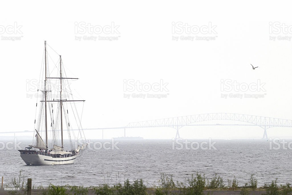 Clipper Ship royalty-free stock photo