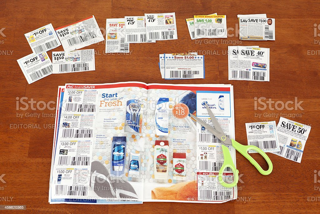 Clipping Coupons Stock Photo Download Image Now Istock