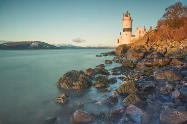 Cloch Lighthouse Gourock stock photo