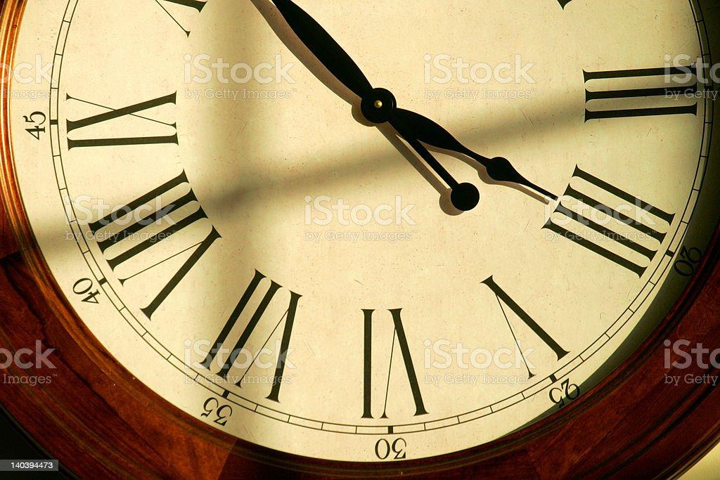 Clock 3 royalty-free stock photo
