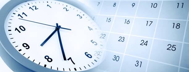 Uhr und Kalender – Foto