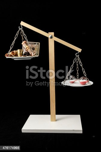 614338352 istock photo Clock and Currency Time is Money Concept 476174993