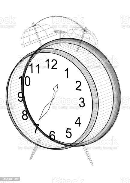 시계 건축가 청사진절연 개념에 대한 스톡 사진 및 기타 이미지