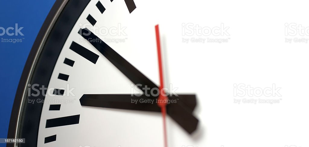Clock Arms royalty-free stock photo