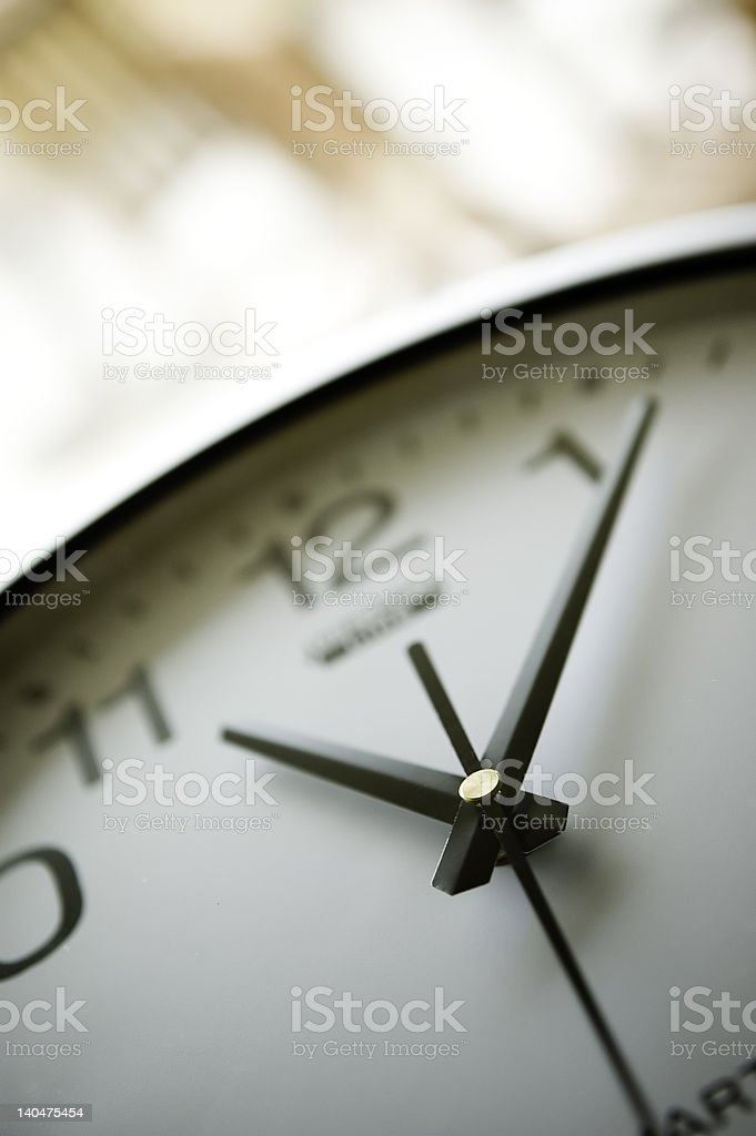 Clock Background royalty-free stock photo