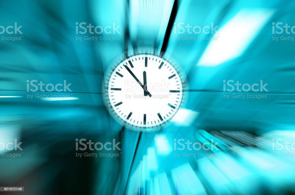 clock blurred photo libre de droits