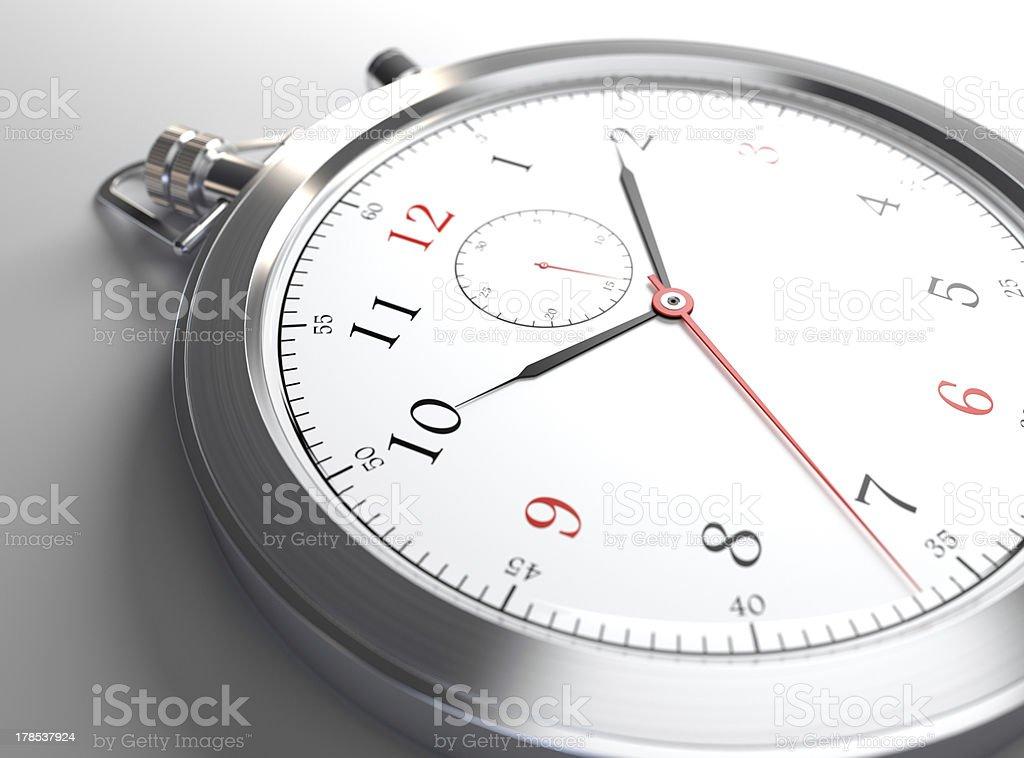 Reloj primer plano - foto de stock