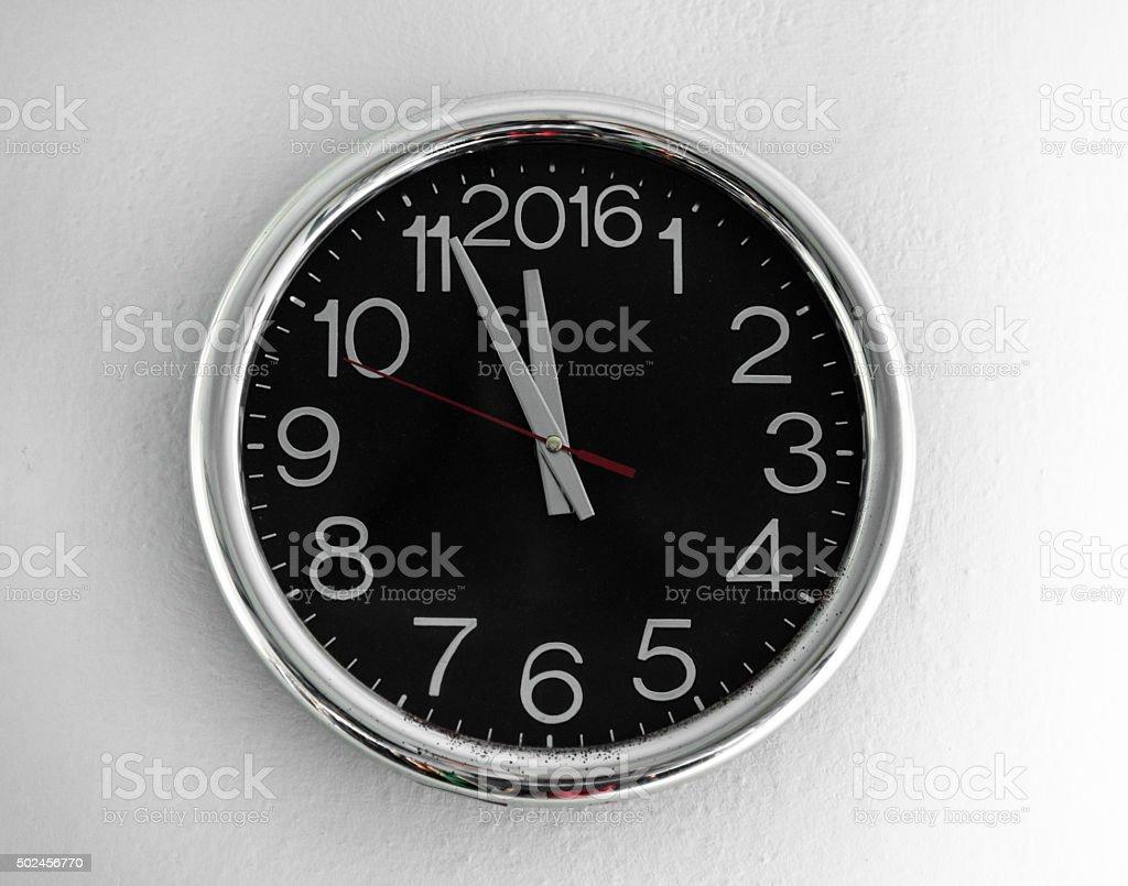 2016 clock countdown