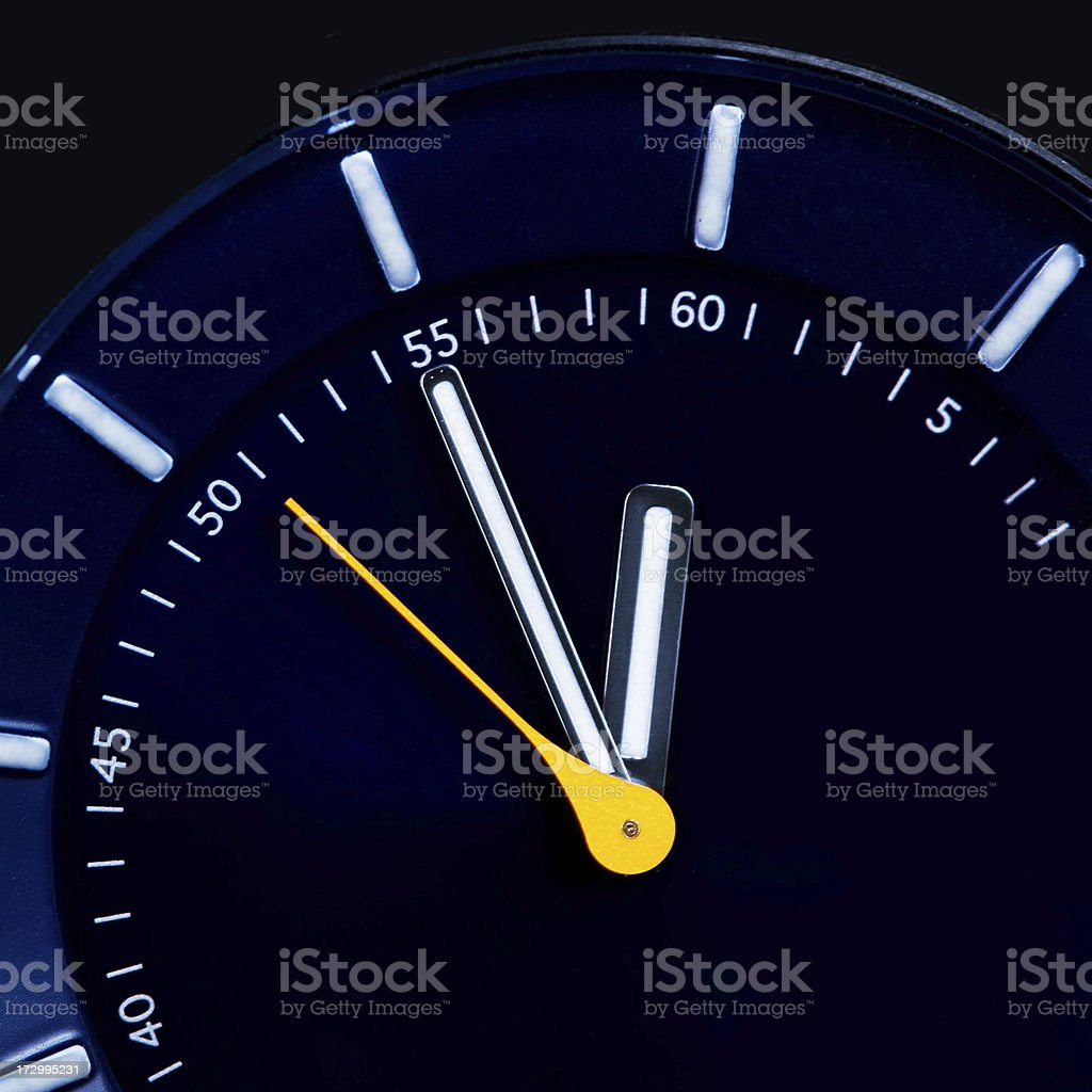 Clock Detail royalty-free stock photo