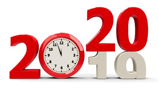 istock 2019-2020 Clock dial 1138918671