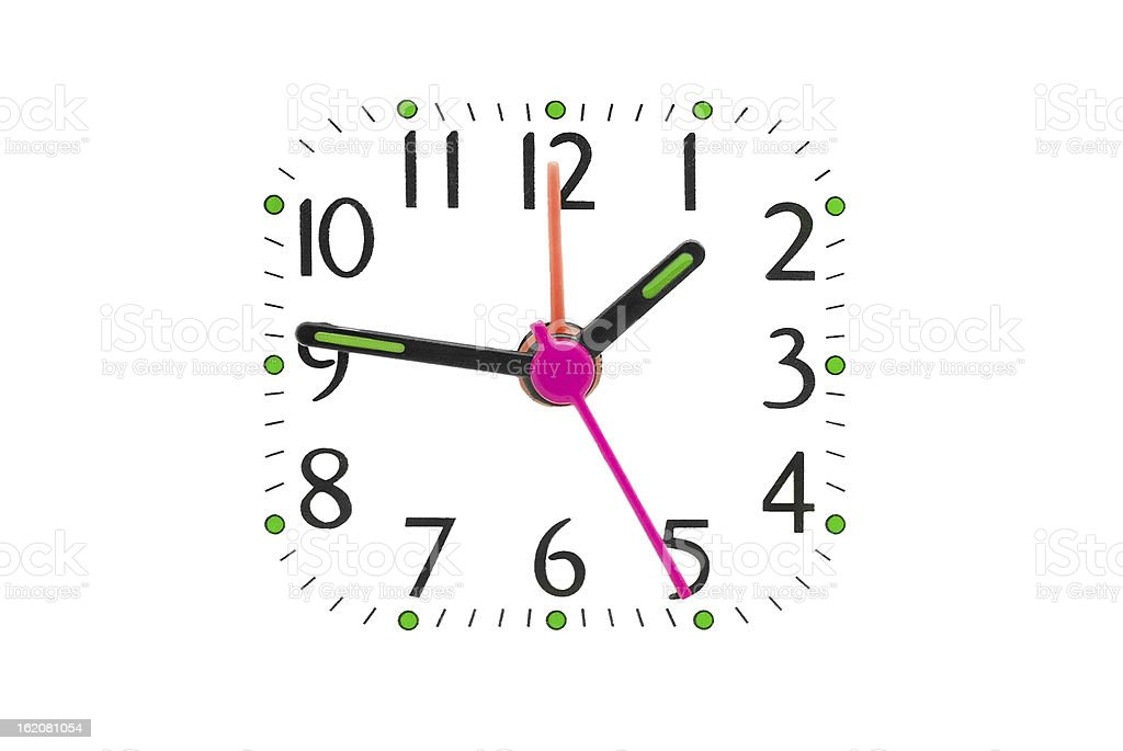 clock dial royalty-free stock photo