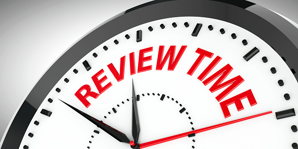 Clock Dial Review Time 2 Stock Photo - Download Image Now
