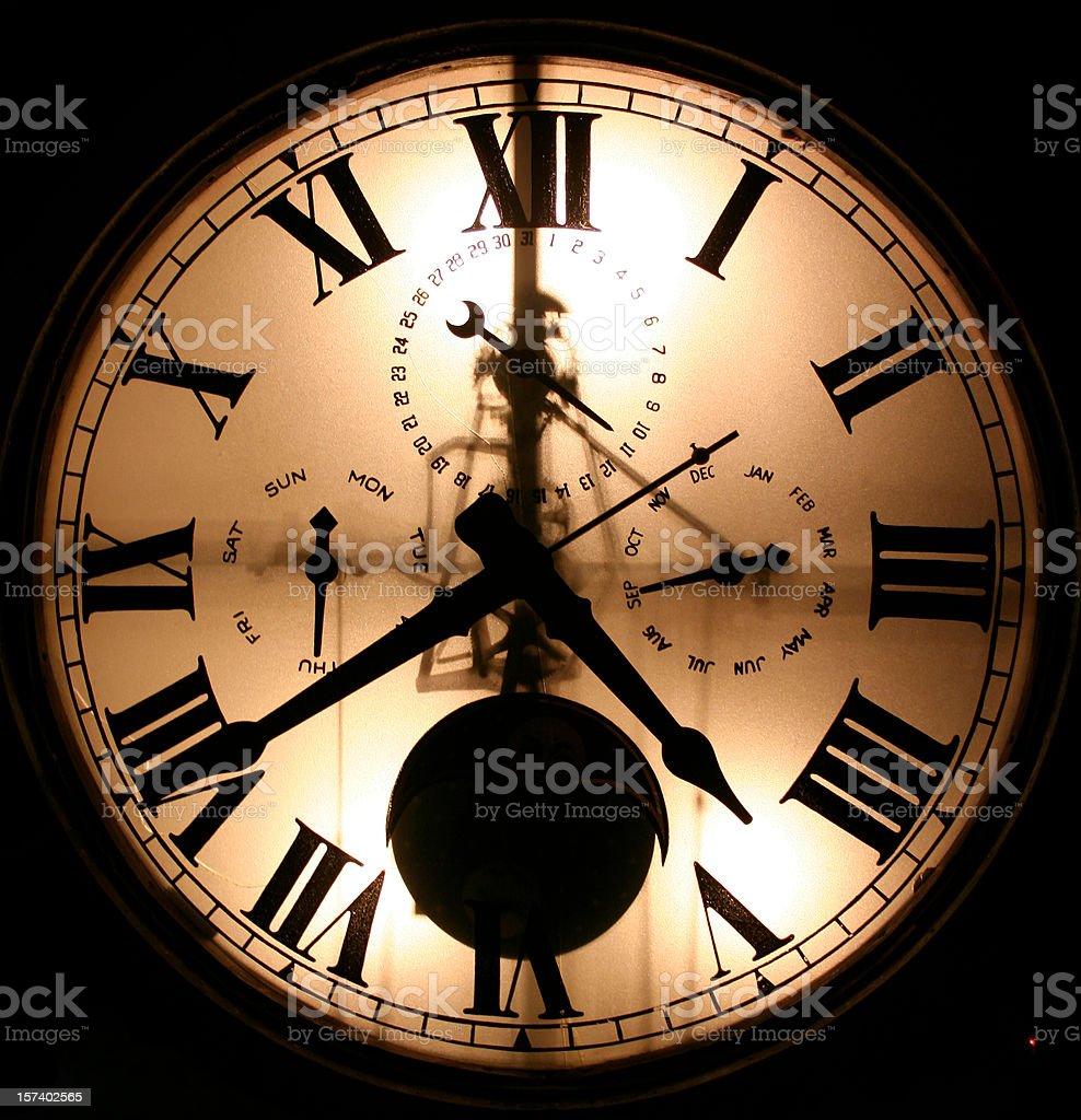 Clock Face stock photo