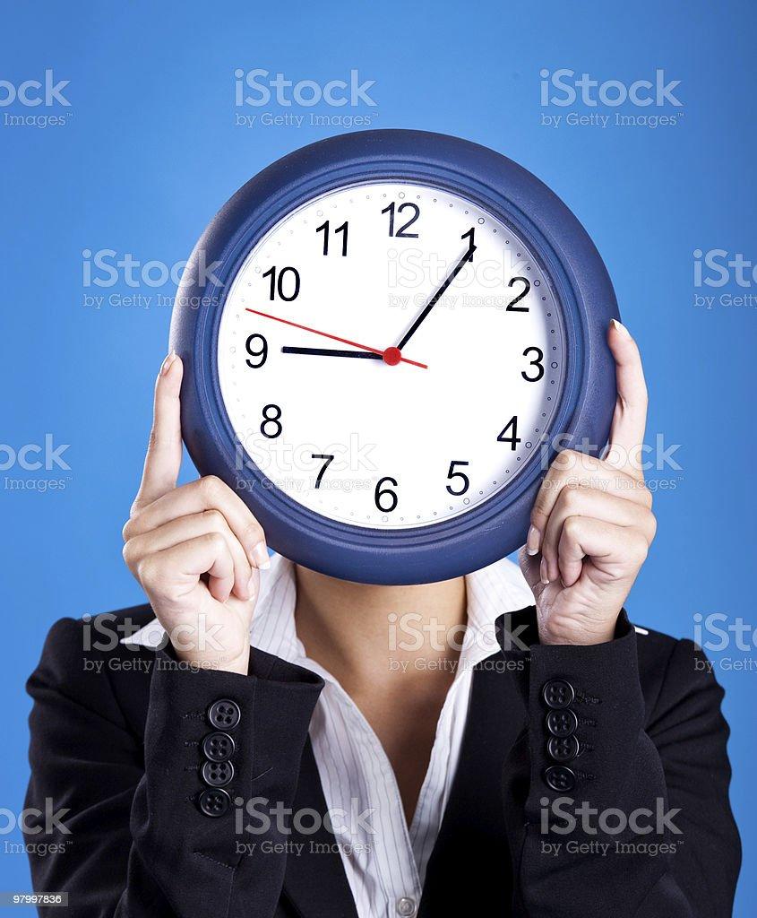 Clock Face royalty-free stock photo