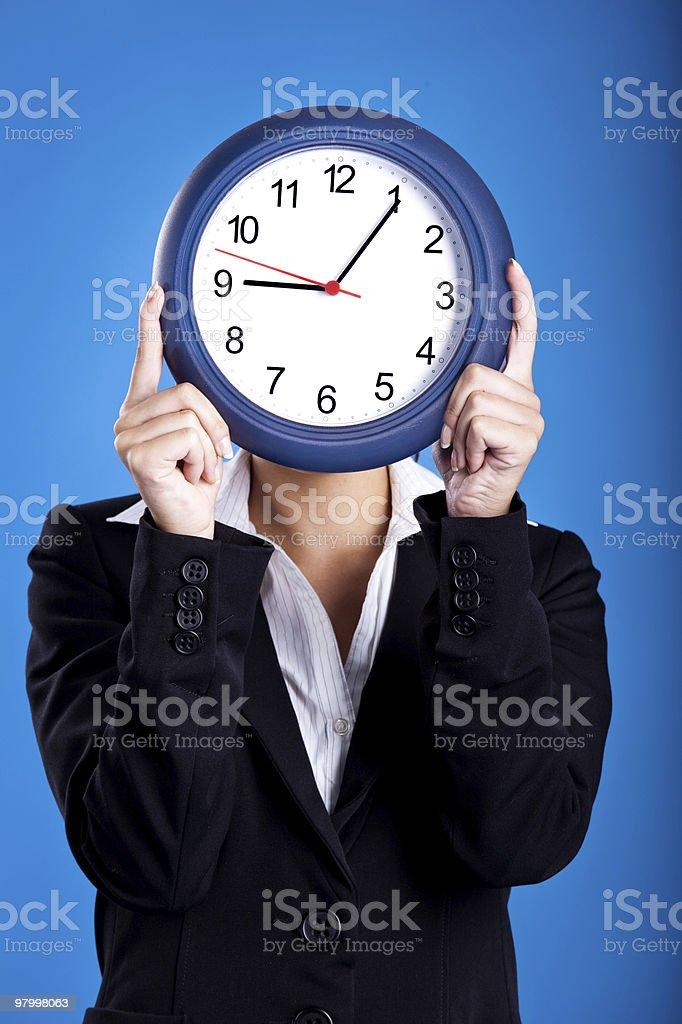Clock Face royalty free stockfoto