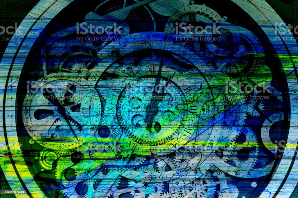 Clock Gear Industrial Material Digital Production Stock Photo Download Image Now Istock