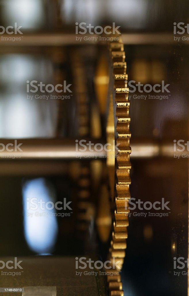 Clock gears royalty-free stock photo