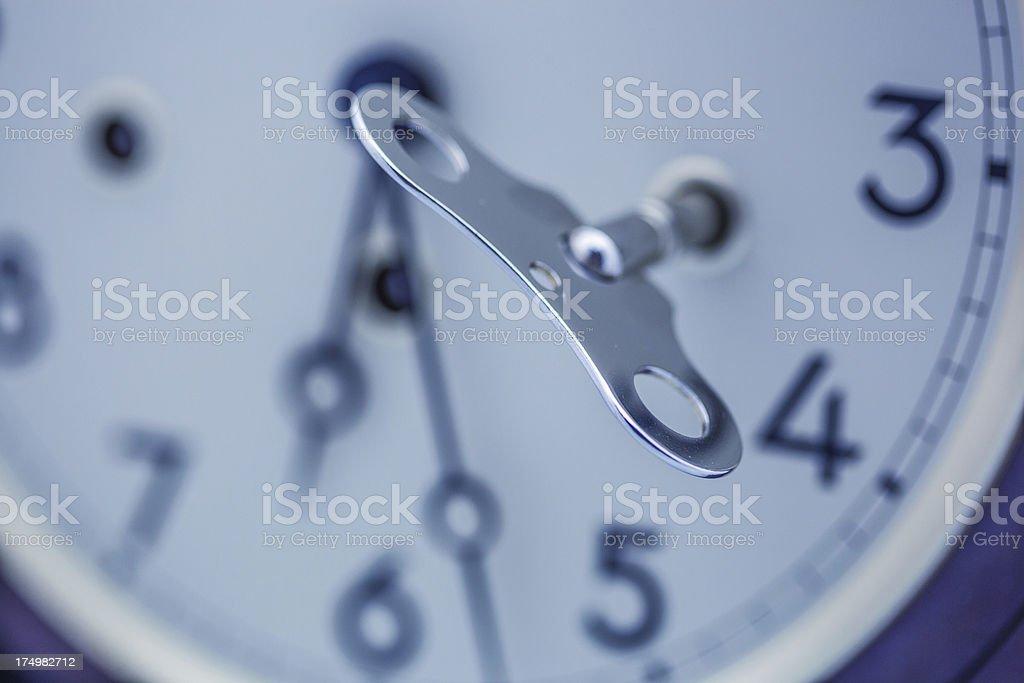Clock key royalty-free stock photo