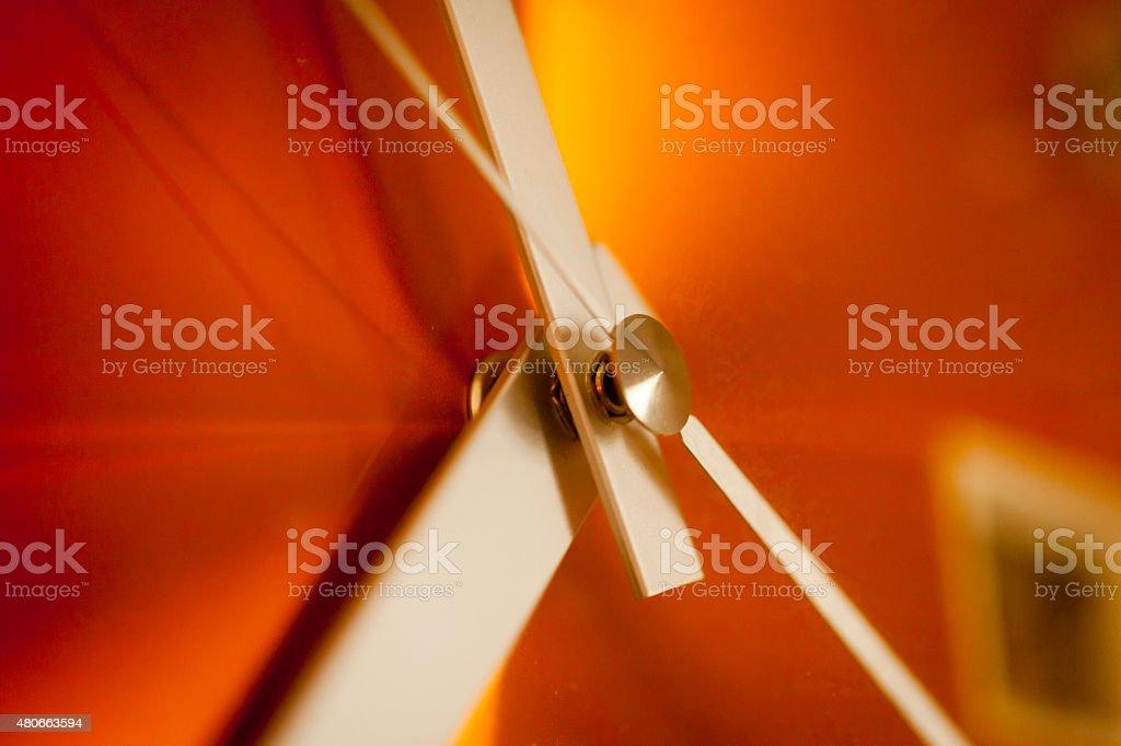Clock Macro stock photo