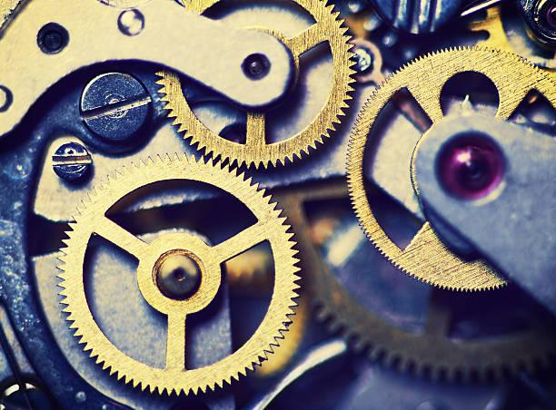 - Mechanismus in die Technik, toning – Foto