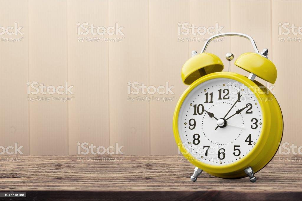 Clock. stock photo
