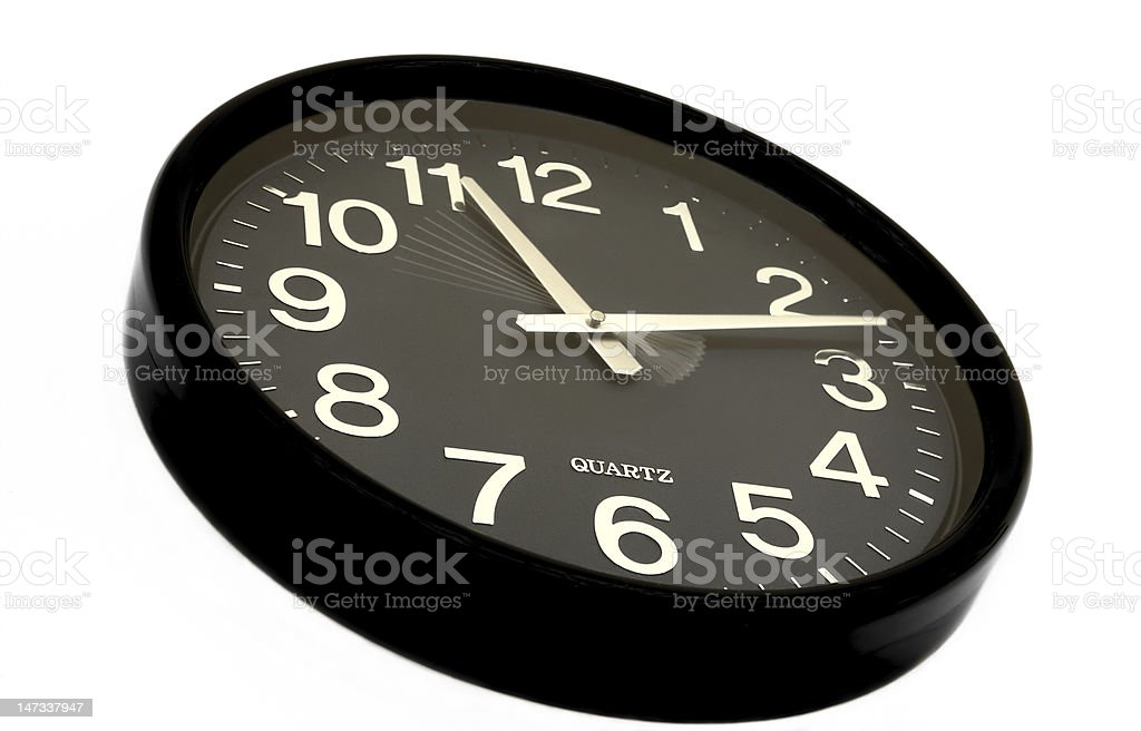 Clock. royalty-free stock photo