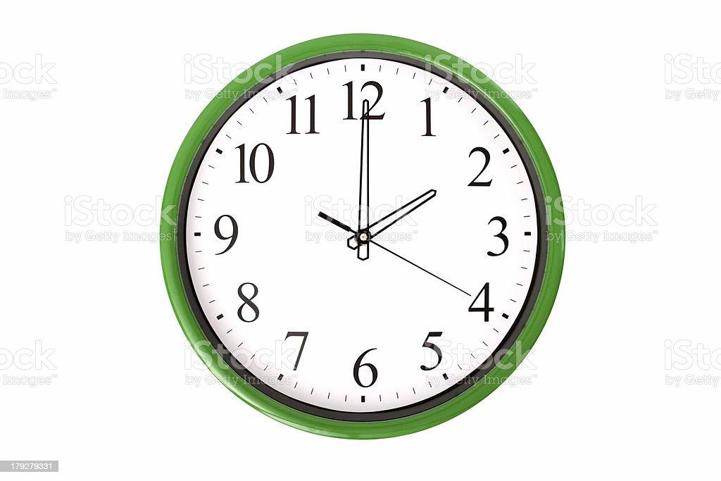 Clock serie - 2 o'clock stock photo