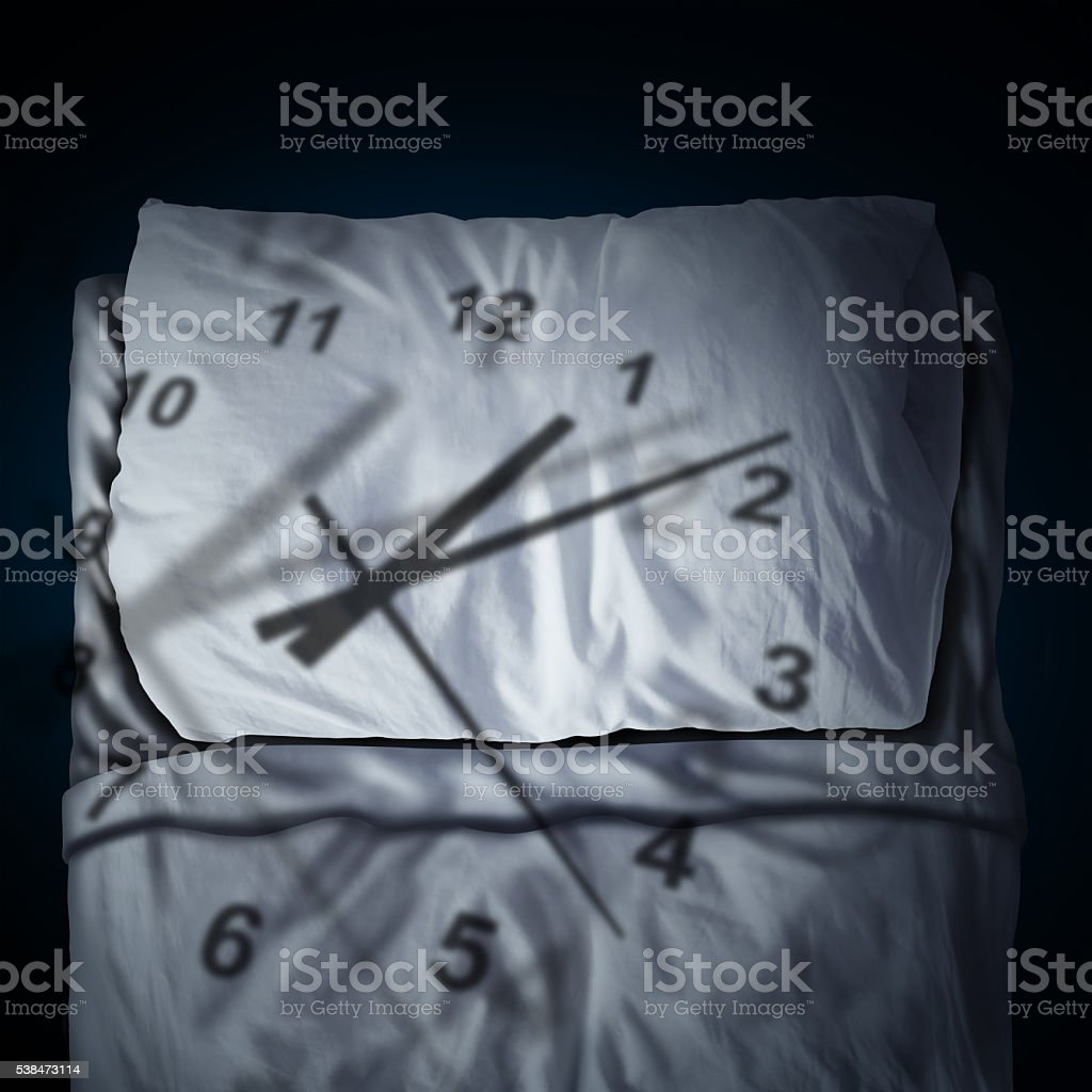 Clock Stress stock photo