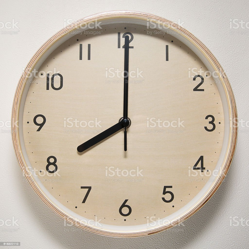 clock, time, 8 o`clock, 8 stock photo